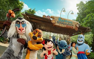 Disneyland, Hong Kong, Carnival of Stars, fun, children, moana,